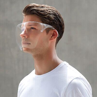 Us Face Shield Protective Face Cover Transparent Glasses Visor Anti-fog