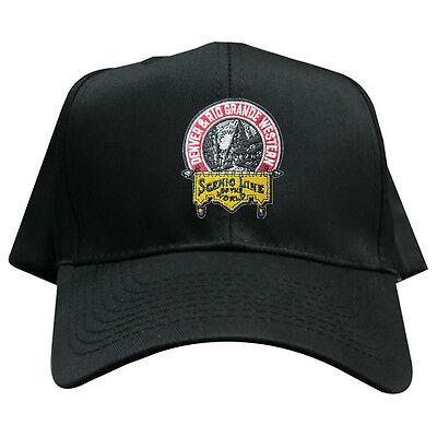 Denver and Rio Grande Western Railroad Embroidered Hat [hat101] Denver And Rio Grande Western Railroad