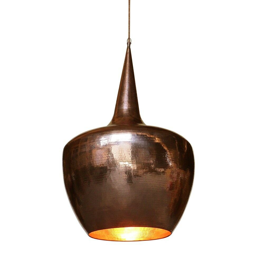 wohnfreuden Retro Lampenschirm Kupfer Gr. L Deckenlampe modern Deckenleuchte