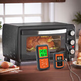 300 Feet Digital Wireless Remote Smoker Cooking Food Meat Thermometer for BBQ