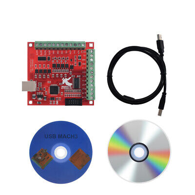 4 Axis Cnc Usb Mach3 100khz Breakout Board Controller For Automatic Probe Tool