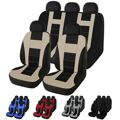 Auto Seat Covers for Car Truck SUV Van Universal Protectors  Front Rear Covers 2 Front Seat Covers
