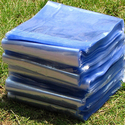 Pvc Heat Shrink Film Wrap Flat Bags Poly Gift Cosmetic Candles Soap Packing Bag