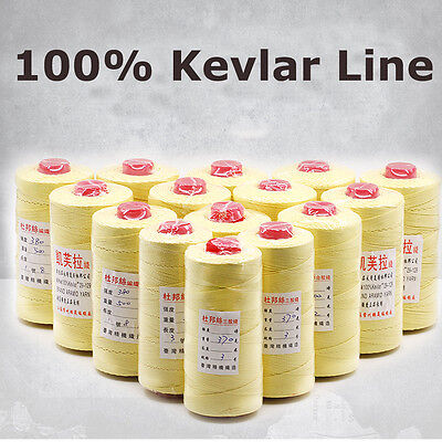 Heavy Duty 1000ft Test 70-200lb 100 Kevlar Sewing Thread Line Heat Resistant