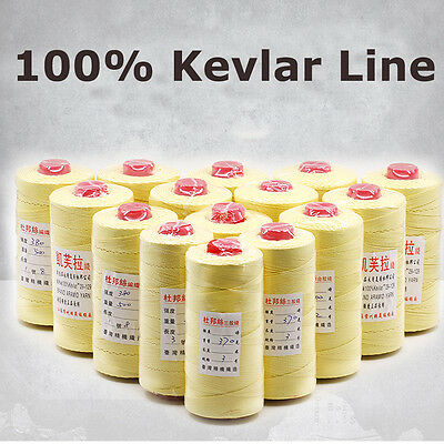Heavy Duty 1000ft Test 70-200lb 100% Kevlar Sewing Thread Line Heat Resistant