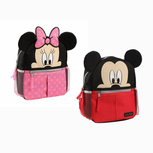 Disney Mickey Mouse, Minnie Harness Backpack Baby Toddler Kids Travel Bag NEW
