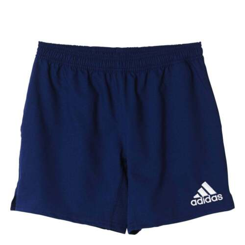 Details about adidas Classic 3 Stripes Mens Rugby Shorts