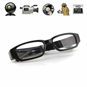 40d71c3bedb5cc Glasses Spy Camera Goggles HD 720P Audio Video Recorder| Pen Chain Button  Watch available at