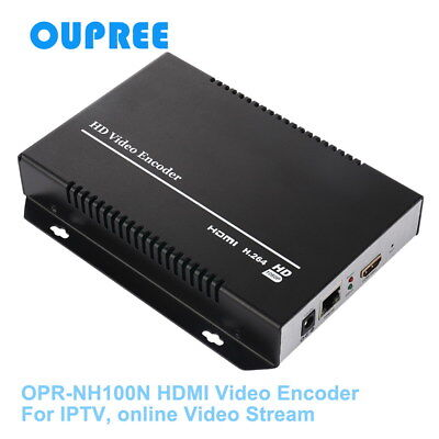 H.264 HDMI Video Encoder for IPTV, Live Stream Broadcast, HDMI Video Recording