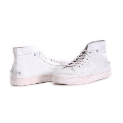 Men Diesel Shoes D-Asmik Mid Fashion White Size 10.5