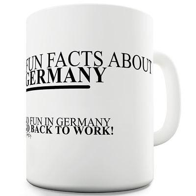 Fun Facts About Germany 11 OZ Ceramic Funny Mug