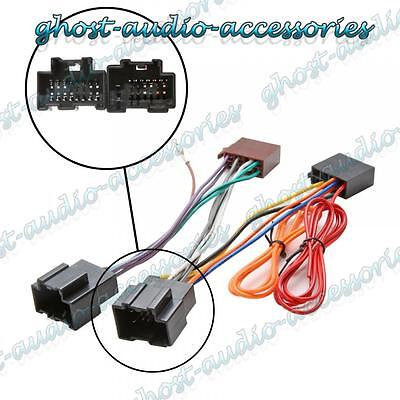 Car Stereo Radio ISO Wiring Harness Connector Adaptor Loom Cable for Saab 93 9-3