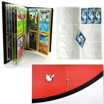 Pokemon Card Binder 240 Cards Holder Portfolio Pocket Album Book Card Portfolio
