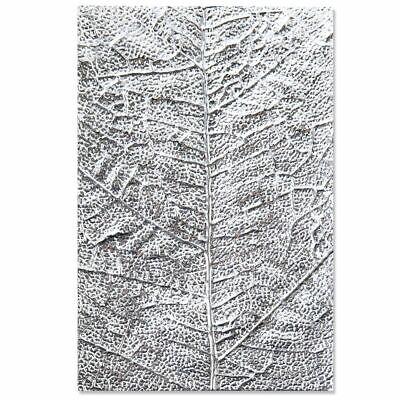 NEW Sizzix Leaf Veins Embossing Folder 3-D Textured Impressions 3D