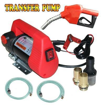 Diesel Oil Transfer Pump 12v 10gpm Dc Fuel Kerosene Extractor Pump Gun Mini
