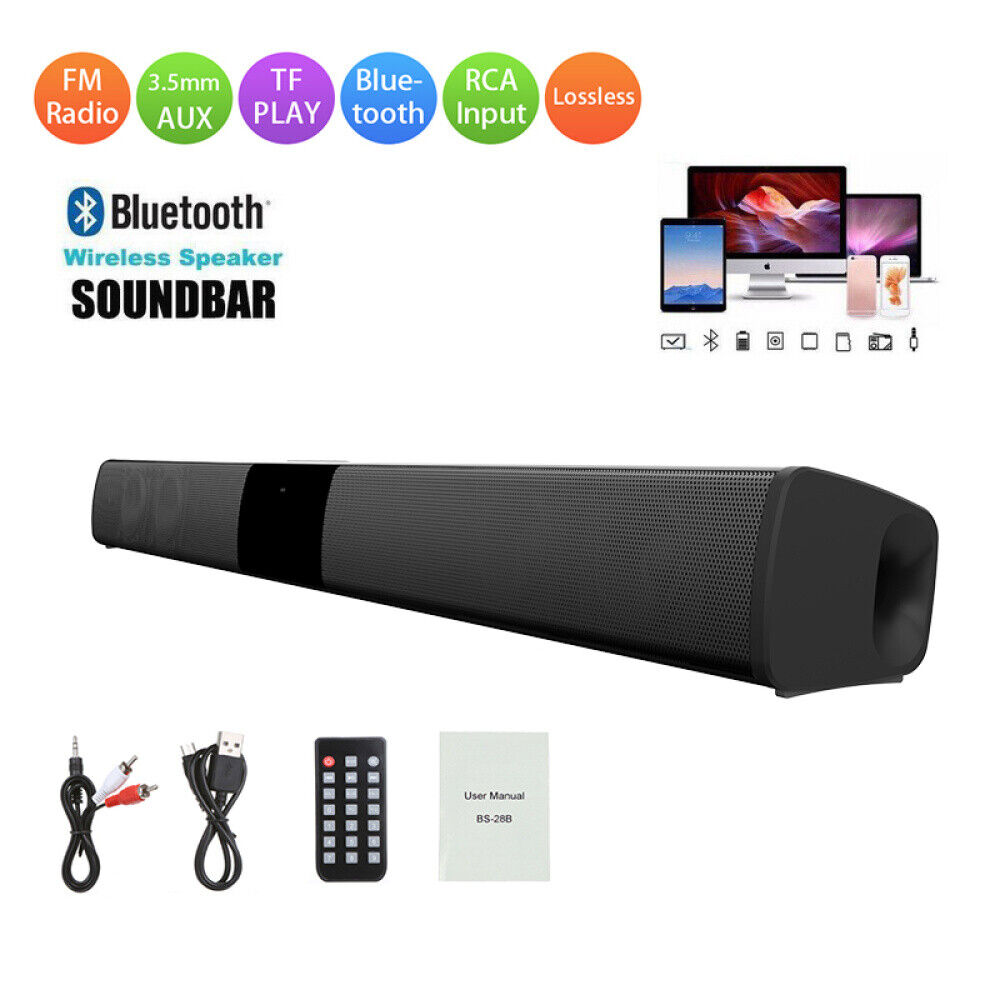 bluetooth stereo wireless speaker system subwoofer surround