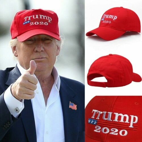 2020 Donald Trump Mega Make America Great Again Cap Baseball Hats Red USA