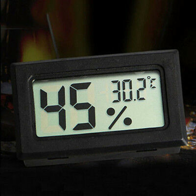 Mini Digital Lcd Indoor Humidity Meter Thermometer Hygrometer Wous Bbc