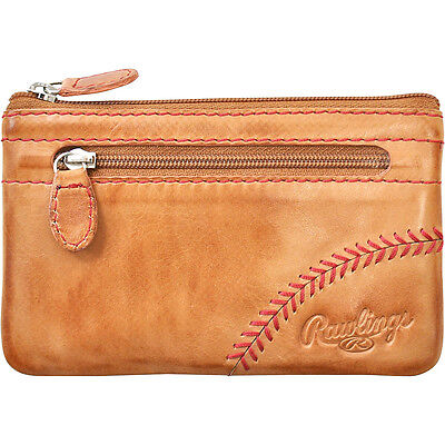 Rawlings Baseball Stitch Pouch With Credit Card Insert Clutche NEW