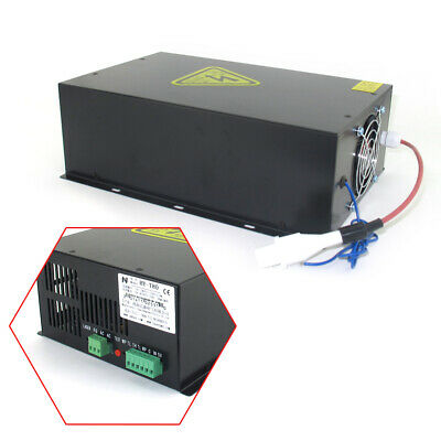 80watt Laser Cutting Machine Power Supply For Co2 Laser Tube Hy-t80 Free Ship