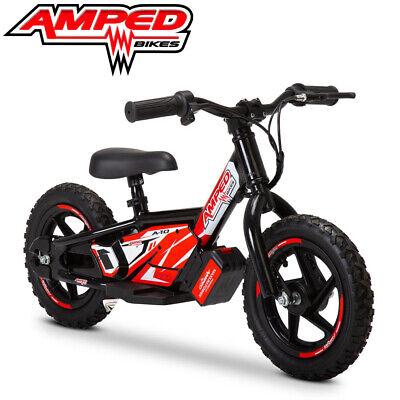 Amped A10 Eléctrico Niños Balance Bicicletas Batería 18v 5.2ah 100w - Negro