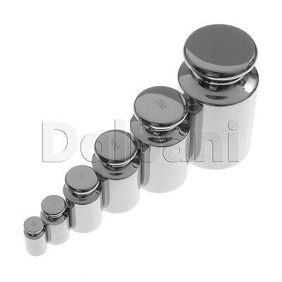 New Set of Calibrating Weights 10g 20g 50g 100g 200g 500g