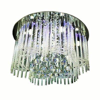 LED EEK A Deckenlampe Deckenleuchte 3/6/9-flg. Kronleuchter,RGB Farbwechsel, FB