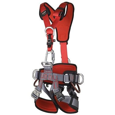 Fall Arrest Rope - CAMP GT ANSI Fullbody Fall Arrest Rope Access Harness ANSI Certified