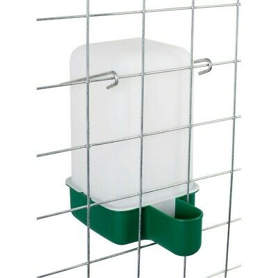 1 L Cage Drinker - Chicken/Quail/Pigeon/Chick Drinker with bracket