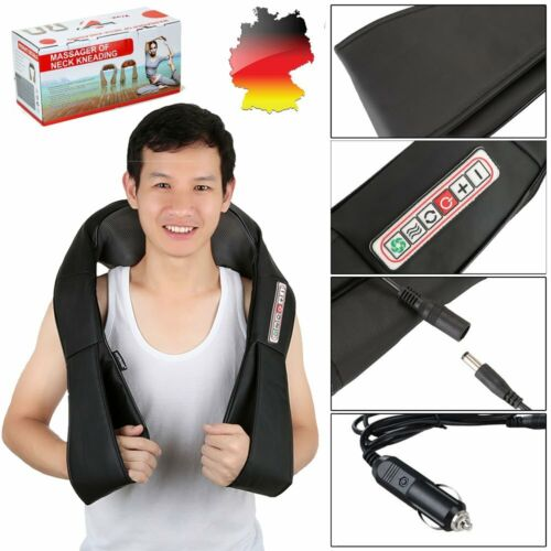 Shiatsu Massagegerät Nackenmassagegerät Schultermassage mit Wärmefunktion Nacken