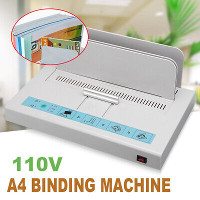 Manual Hot Melt Glue Book Binding Machine Thickness A4 For Photo Album Paper
