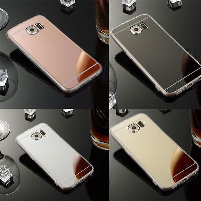 Samsung Galaxy A5 (2017) Handy Hülle Spiegel Case Schutz  Ultraslim Tpu Silikon (Samsung Galaxy A5 Slim Case)