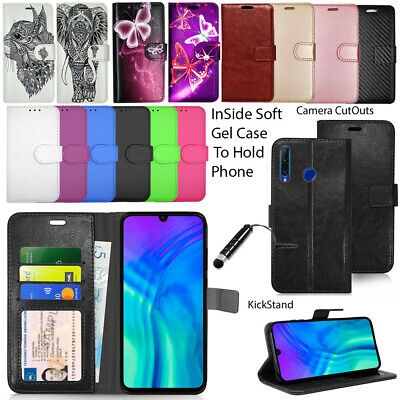 For Honor 20 Case Honor 20 Lite Wallet Cover Leather Flip Magnetic Photo ID Pro