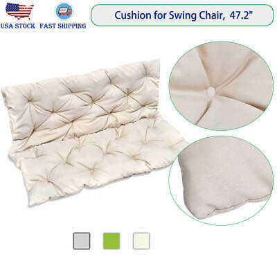 Replacement Cushion for Garden Swing Chair Outdoor Patio Furniture Backrest Seat (Patio Chair Cushion Replacement)
