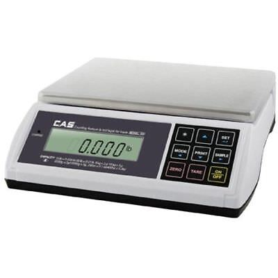 Cas Ed-30 Digital Bench Counter Scale 015 X 0.005 Lbs1530 X 0.01 Lbs