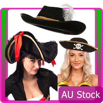 Jack Sparrow Costume Accessories (Pirate Hat Pirates Of The Caribbean Captain Jack Sparrow Costume)