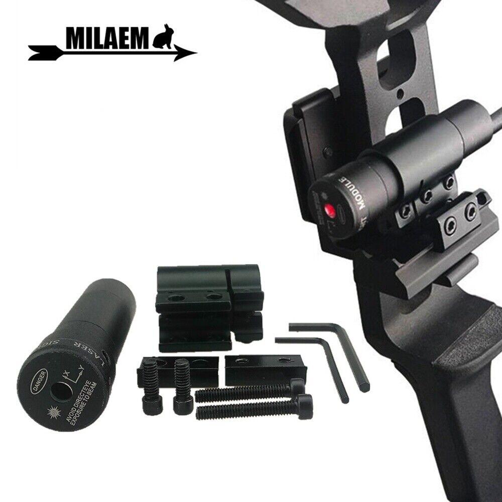 Archery Red Dot Laser Sight Scope for Compound Recurve Bow Crossbow Slingshot