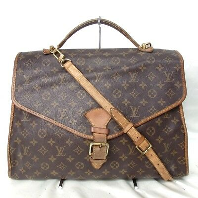 Authentic LOUIS VUITTON M51122 Monogram Bel Air 2 Way Handbag PVC/Leather[Used]