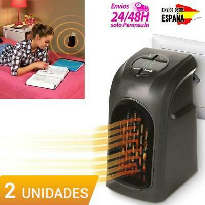 Calefactor de baño eléctrico de pared (X2) estufa eléctrica portátil regulable
