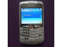 Silver Blackberry Curve 8310 Smart Phone on o2 - Excellent Condition £15