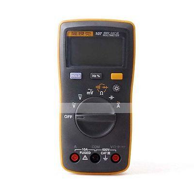 Fluke 107 F107 Palm-sized Portablehandheld Digital Multimeter Tester Than 17b