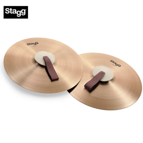 NEW Stagg MASH18 18 Inch Marching/Concert Cymbals - Pair