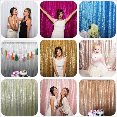 7X7FT Sequin Backdrop Photo Booth Backdrop Party Festival Wedding Sequin Decor (Booth Backdrops)