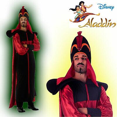 Disney Aladdin Mens Jafar Evil Sorcerer Halloween Costume Adult (Std) - Jafar Costume Adult