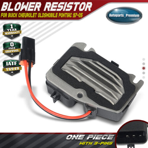 Blower Motor Resistor for Buick Century Regal Chevrolet Impala Monte Carlo 97-05