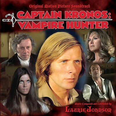 CAPTAIN KRONOS: VAMPIRE HUNTER - Original Soundtrack by Laurie Johnson for sale  Shipping to India