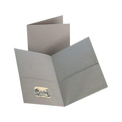 Staples 2-pocket Folder Gray 905689