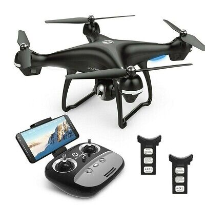 Holy Stonne HS100-BK FPV RC HD Camera GPS Wi-Fi Drone - Black