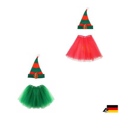 DAMEN Kinder Elfenmütze Hut Elfen Wichtel Weihnachten Fashing - Weihnachten Elf Hut