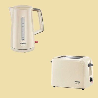 Siemens Set Series 300 - Wasserkocher TW 3A0107 + Toaster TT 3A0107 - creme